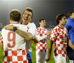 Croatia qualify for 2014 World Cup finals