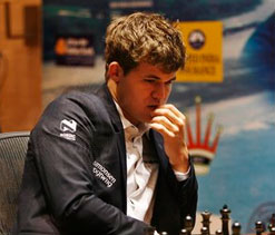 World Chess Championship: Carlsen defeats Anand in game 9, extends lead to 6-3