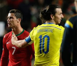 I did not applaud Cristiano Ronaldo, clarifies Zlatan Ibrahimovic