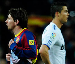 Barcelona superstar Messi lauds Ronaldo`s goal-scoring power