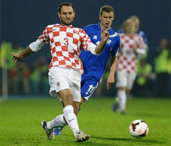Croatia defender Josip Simunic fined for pro-Nazi chant
