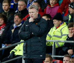 David Moyes worried dropped points will prove costly for Manchester United