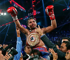 Manny Pacquiao`s speed would `overwhelm` Mayweather: Roach
