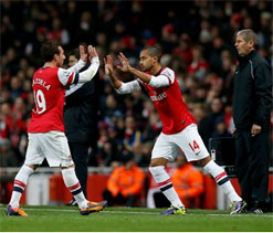 Santi Cazorla warns Arsenal not to slip up v Marseille