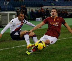 Juventus stay top after wasteful Roma thwarted by Cagliari