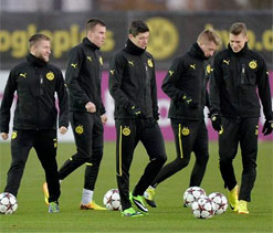 Borussia Dortmund ready for `final` against Napoli