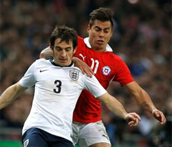 Everton`s Leighton Baines set for up to six weeks out