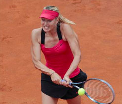 Sharapova to return to tennis next week for exhibition game against Ivanovic