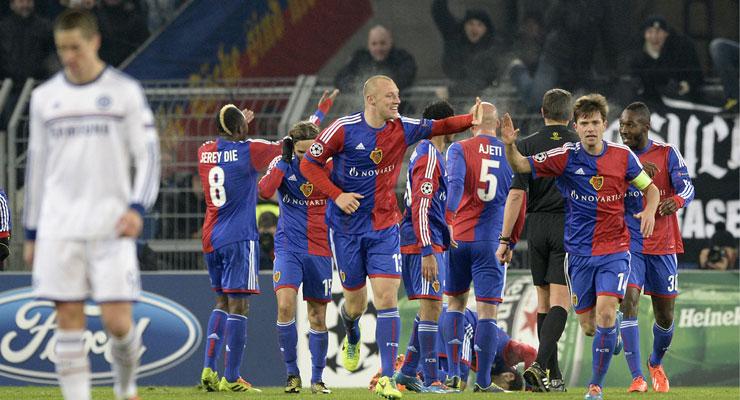 UEFA Champions League: Chelsea through despite Basel loss