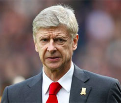 Wenger delights in Arsenal`s pedigree as top dogs