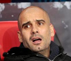 Pep Guardiola admits to injury worries