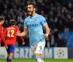 UEFA Champions League: Aguero, Negredo fire Man City into last 16