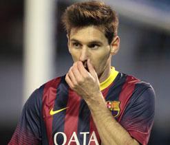 Pedro expecting Messi magic for Milan clash