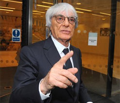 Formula One boss Bernie Ecclestone flags own value to business