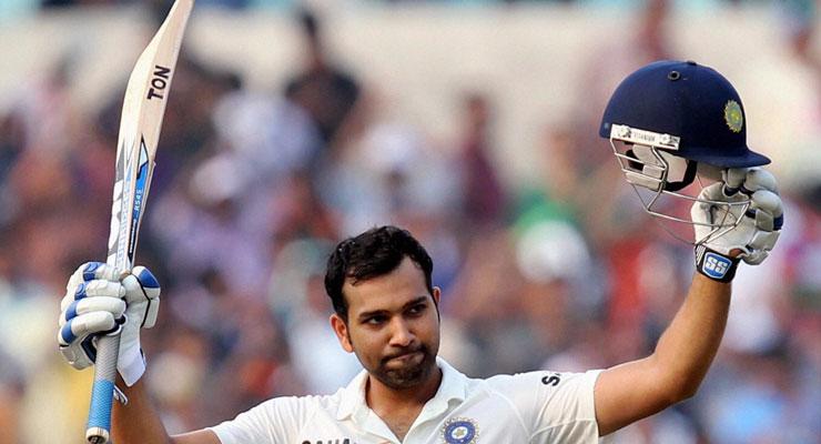 Kolkata Test, Day 2: Rohit slams century on debut as India take big lead