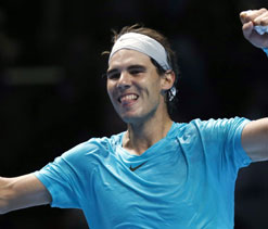 Returning to top, one of the greatest achievements: Nadal