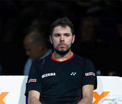 Beaten Wawrinka takes it to Nadal, on and off court