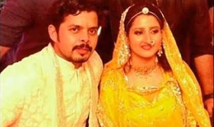 S Sreesanth marries Jaipur princess