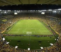 Maracana pitch readied for World Cup