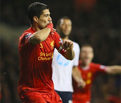 Five-star Liverpool swamp sorry Spurs