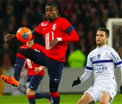 Kalou sparks title challengers Lille to victory