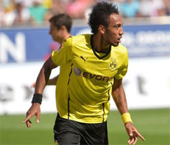 Athlete challenges Aubameyang to sprint race