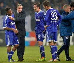 Schalke boss to stay until season`s end: reports