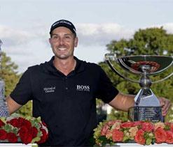 Sweden`s Henrik Stenson named European Tour golfer of the year