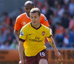 Wilshere charged by FA over Man City gesture