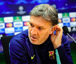Martino`s future at Barcelona in doubt