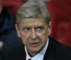 Wenger says Arsenal `must not relax` despite `commanding` position in PL