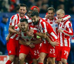 Unbeaten Olympiakos break 48-year club record