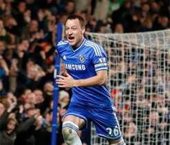 Terry seals Chelsea landmark in style