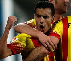 Pedro hat-trick hands Barca win over Getafe