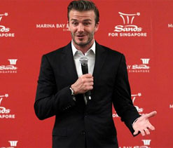 Bolivar confirms trying to tempt Becks out of retirement to play in Copa Libertadores