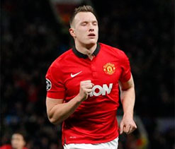 Manchester United lose Phil Jones for two weeks