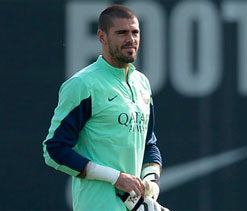 Victor Valdes says he has recovered from calf strain