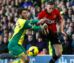 Hughton bemoans lack of creativity in loss to Manchester United