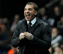 Title burden sits well with Brendan Rodgers