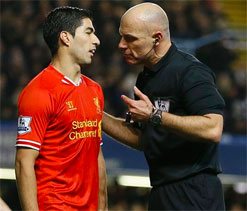 `Wild natured` Suarez accused of diving by Mourinho