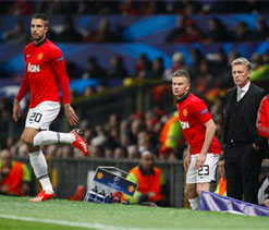 Boost for Manchester United as Van Persie returns to light training