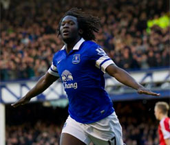 Lukaku keeps Everton`s Premier League top-four bid on track