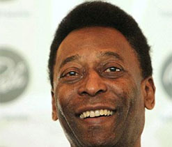 Pele not taking part in Cup draw, will be in audience