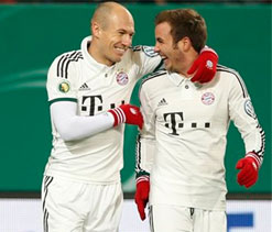 Injured Robben ruled out for six weeks