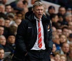 David Moyes bemoans disappearance of United spark
