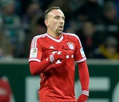 Franck Ribery leads seven-goal Bayern to 40-match milestone
