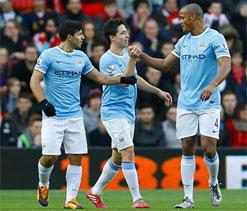 Osvaldo`s equaliser ensures draw for Southampton against Man City in PL