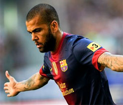 Alves says racism widespread in Spanish football