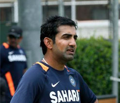 Gautam Gambhir to lead India A against Oz in warm up game