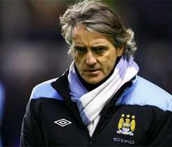 Man City have 10 per cent chance of retaining PL title: Mancini